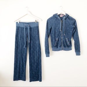 Juicy Couture Blue Sweatsuit Outfit